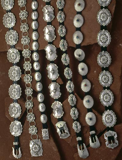 Concho Belts Buckles Sterling Silver